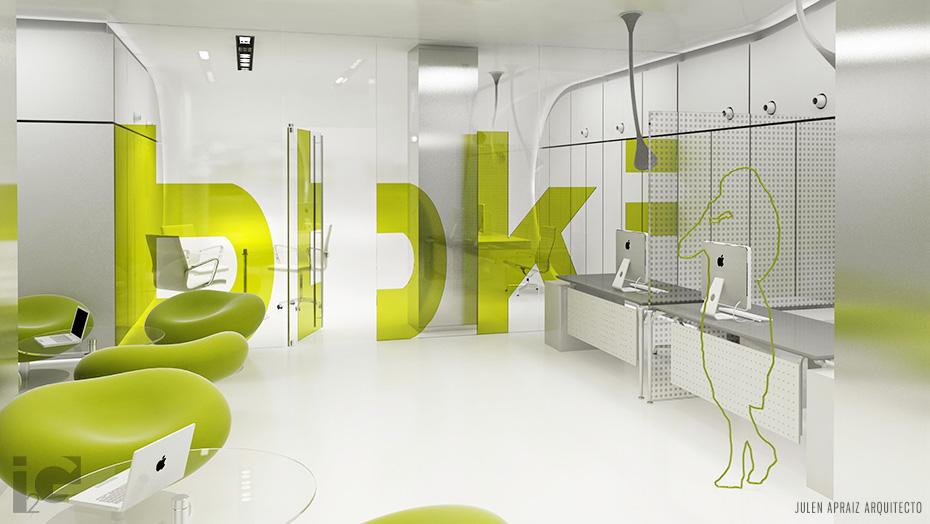 Infografía 3D | Nueva imagen Sucursal BBK
