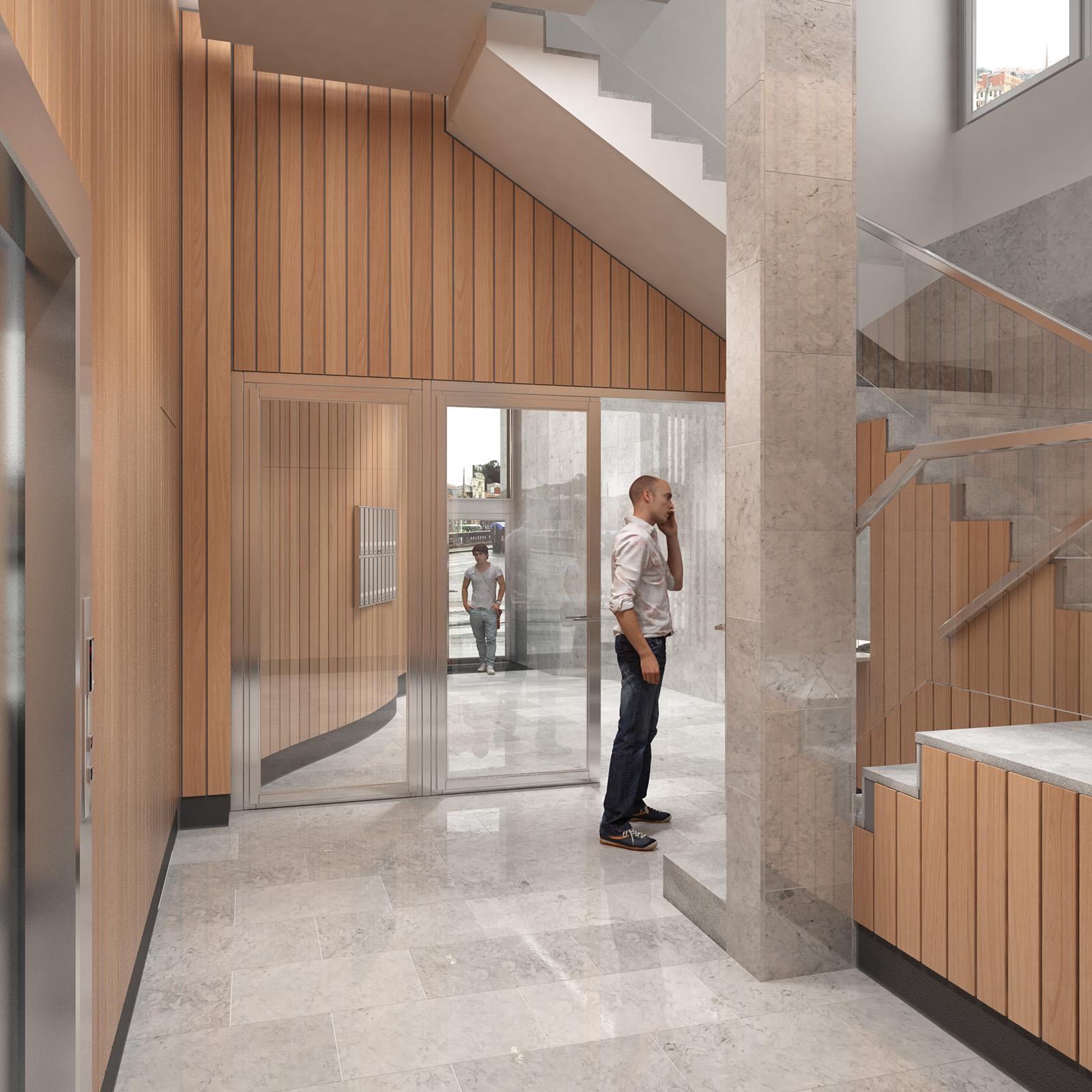 Infograf as reforma portal apraiz studio - Portales de madera ...