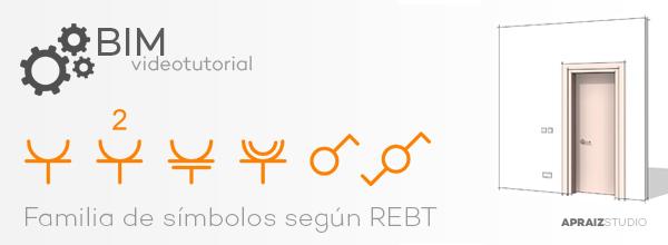 Videotutorial Revit - Familia de Símbolos según REBT